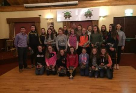 u10 and u14 Medal Presentation January 17th 2018