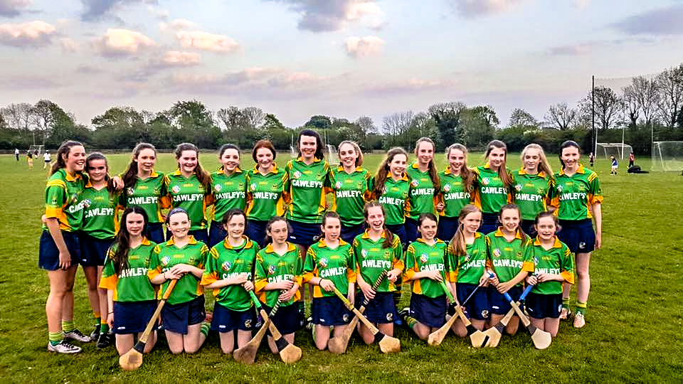Craughwell Camogie Team Photos U14's